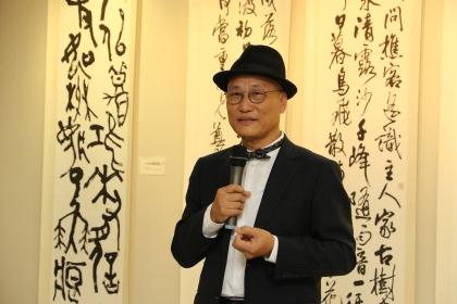 書法巨擘簡銘山「七十從心」展覽 10/25興大開展