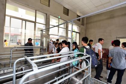 中興大學動物科學系9月23日上午舉辦動物舍揭牌儀式
