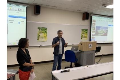 興大人社中心10月15日邀請劉嵩導演分享公視紀錄片《農村的遠見》的製作過程與理念。