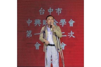 【經濟日報】台中市中興財金學會理事長張建森。