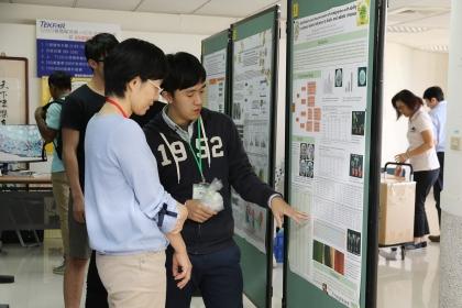 臺日韓植物醫學相關學系學生和農改研究單位發表49篇海報