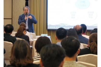 【經濟日報】中興大學EMBA執行長紀信義介紹該班特色與課程規劃。
