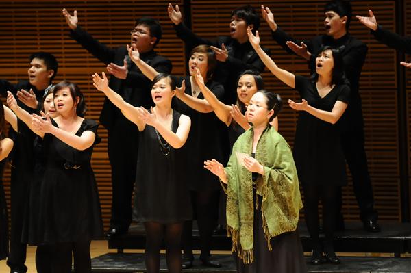 台北愛樂室內合唱團演出照片_《紐約卡內基音樂廳演出照片3(簡一夫/攝影)》