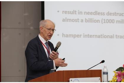 全球調合倡議組織會長Dr. h. c. Huub Lelieveld專題演講