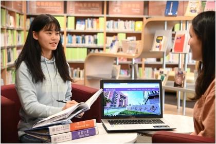 今年大學「個人申請」二階段甄試,首次試辦離島生視訊面試,包括清華大學等188個系組參加。免除離島考生奔波之苦。(清華大學提供)
