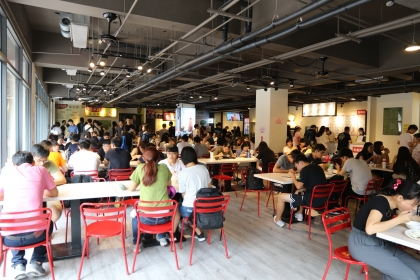 The most chic campus cafeteria in Taiwan opens in NCHU