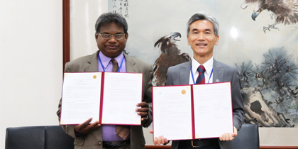 NCHU's Sri Lanka Culture Day and Signing Cooperative Agreement with Paladin University