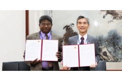 NCHU's Sri Lanka Culture Day and Signing Cooperative Agreement with University of Peradeniya