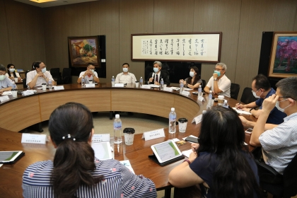 """National University System of Taiwan held a symposium """"Strengthening Cooperation, Exchanges and Sharing with ASEAN and South-Asian Countries."""""""