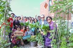 【公關組】興大為鄰為善興責任 樂齡園藝慶豐收