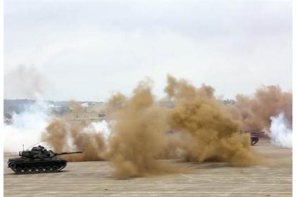 美國參議院日前通過2019年《國防授權法》草案,建議美軍應適度參加台灣軍演;圖為漢光演習。
