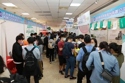 中市府就業博覽會 3月27日在興大登場