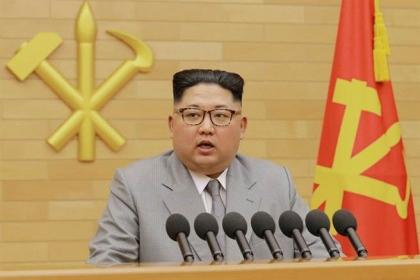 【中國時報】金正恩元旦發表新年賀詞,罕見向南韓釋出善意。(圖/朝中社)