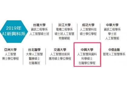【聯合晚報】2019年AI新興科系