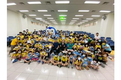 8月26日小貓頭鷹夏令營舉辦「換物趣」活動