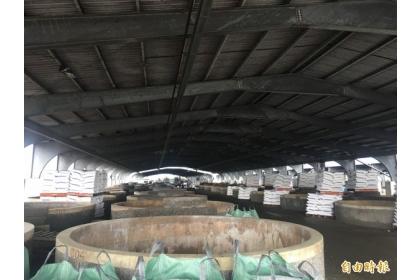 大埤酸菜專業區醃漬專區廢水終於有解了。(記者黃淑莉攝)