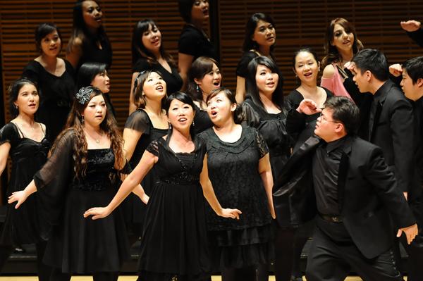 台北愛樂室內合唱團演出照片_《紐約卡內基音樂廳演出照片4(簡一夫/攝影)》