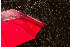 Waterproof fabric harvests energy from raindrops