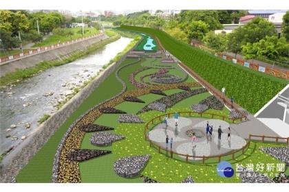 中市南區水環境新亮點 旱溪康橋水岸工程預計明年1月施工