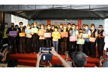 興大與臺中市府合辦「視訊就業博覽會」開幕式