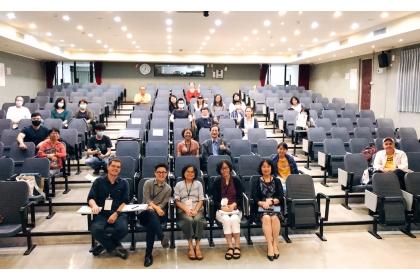 中興大學人文與社會科學研究中心舉辦「新冠肺炎」論壇