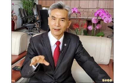 中興大學校長薛富盛預警,台灣養成的高教人才再不設法升級,培育出足以前進歐美一流大學任教的人才,將成為新國安危機。(記者蘇孟娟攝)
