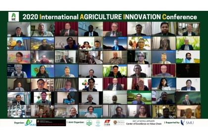 26國家學者專家商議後疫情時代農業永續