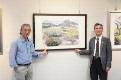 【公關組】顏聖哲彩墨畫展 5/24興大藝術中心開幕