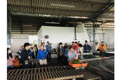 興大農推中心辦理農產品冷鏈人才培育,除專業課程外,也安排參訪行程。