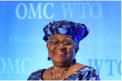 奈及利亞前財政部長伊衛拉獲美國大力支持,3月1日正式就任WTO祕書長。法新社
