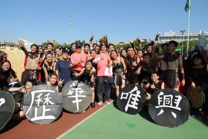 興大舉辦98週年校慶運動會,啦啦隊競賽活力四射
