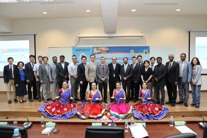 國立中興大學國際處4月25日上午舉辦「2019興大姊妹校論壇-台灣與印度」與「台印產學資訊交流座談會」
