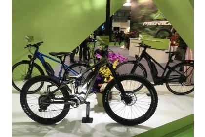 電動自行車是今年的亮點所在。 記者邱馨儀/攝影