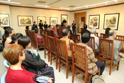中興大學藝術中心舉辦「醉心書畫老不休—柯耀東八六創作展」