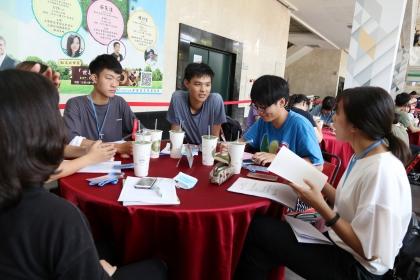 中興大學法政學院推動教學創新,6月5日舉辦世界咖啡館活動。