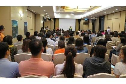 【經濟日報】中興大學EMBA首場招生說明會,湧入爆滿人潮現場座無虛席。