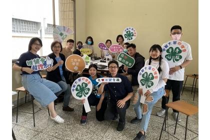 興大四健會欲重新成立社團,3月17日舉辦香氛蠟蠋DIY活動,為成立作暖身。