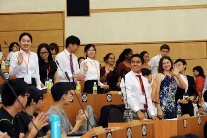 第十七屆國際學生高峰會吸引24個國家,31所大學,80餘位師生來台參加
