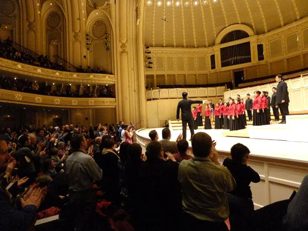 台北愛樂室內合唱團演出照片_《芝加哥交響樂團音樂廳演出照片》