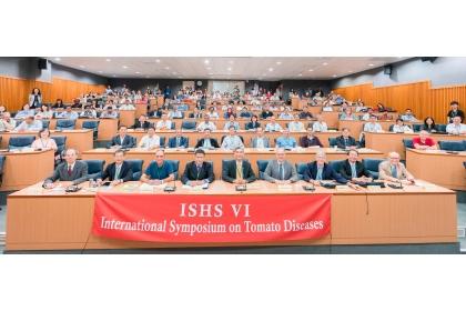 第六屆國際園藝學會番茄病害研討會,5月6日在興大登場