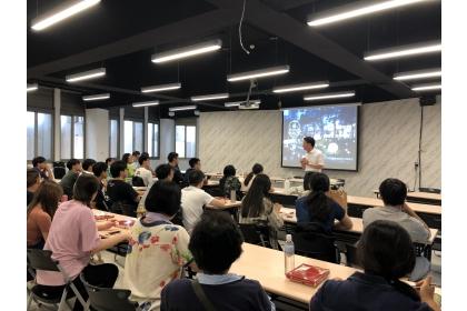 9月14日與學生社團幹部進行交流會議