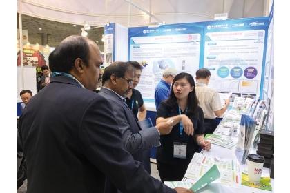 2020亞洲生技大展將於7月23日正式開展,由科技部主導的「國際產學聯盟」今年也有14所聯盟大學參展。圖/海洋大學提供
