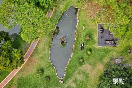 中興大學的台灣池(圖/kobe_weng24)