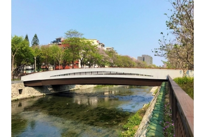 The National Chung Hsing University's Section of Green Waterway was Completed and Inaugurated  to Create a New Water-Friendly Landscape
