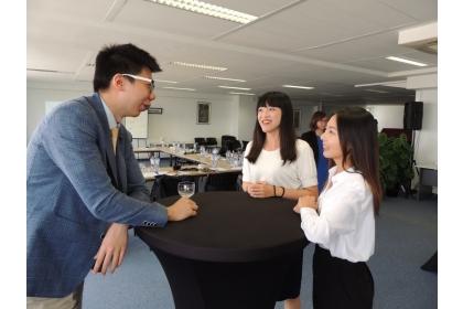 興大國政所推動學海築夢,學生與歐洲當地青年對談