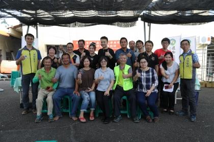 中興大學植物教學醫院10月16日在南投名間鄉瑞成茶廠舉辦「名間鄉茶葉友善防治推廣」活動,
