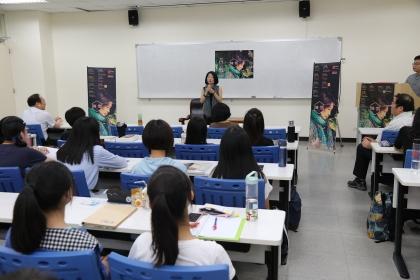 陳雪10-11月擔任興大駐校作家,10月2日舉辦首場演講