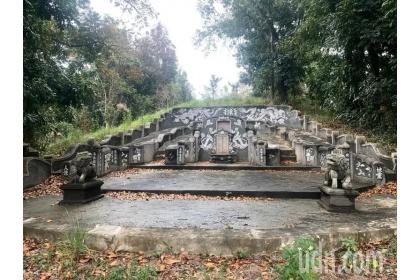 陳登昌古墓位台南市新化區羊林里,保留完整。記者吳淑玲/攝影