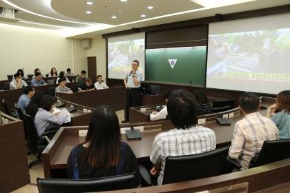 興大國政所蔡東杰教授開授兩韓會談直播課程,即時解說朝鮮半島情勢