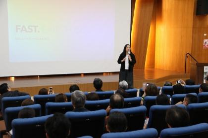 興大「數位政府與數位轉型論壇」唐鳳分享防疫數位經驗